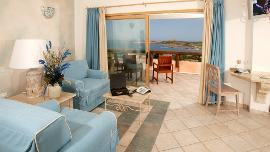 President Suite with Sea View  - Marinedda Hotel Thalasso & SPA