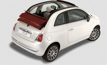 Foto Fiat 500 Cabrio a noleggio