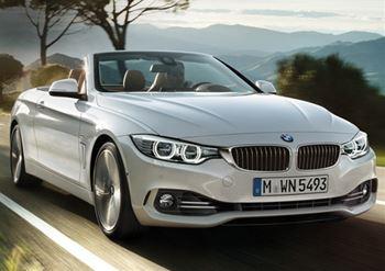 Foto BMW 420 Cabrio a noleggio