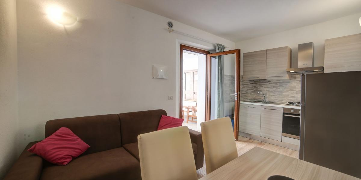 Two-roomed apartment 2-4 places Domus Olbia