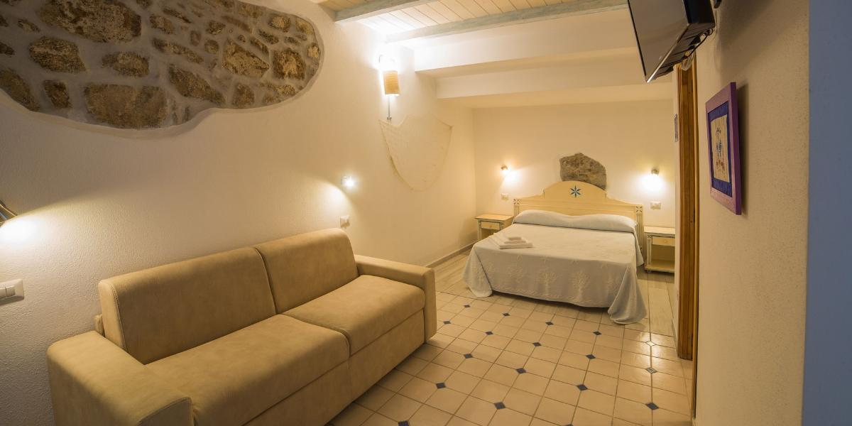 Camera Junior Suite Domus Olbia Inn