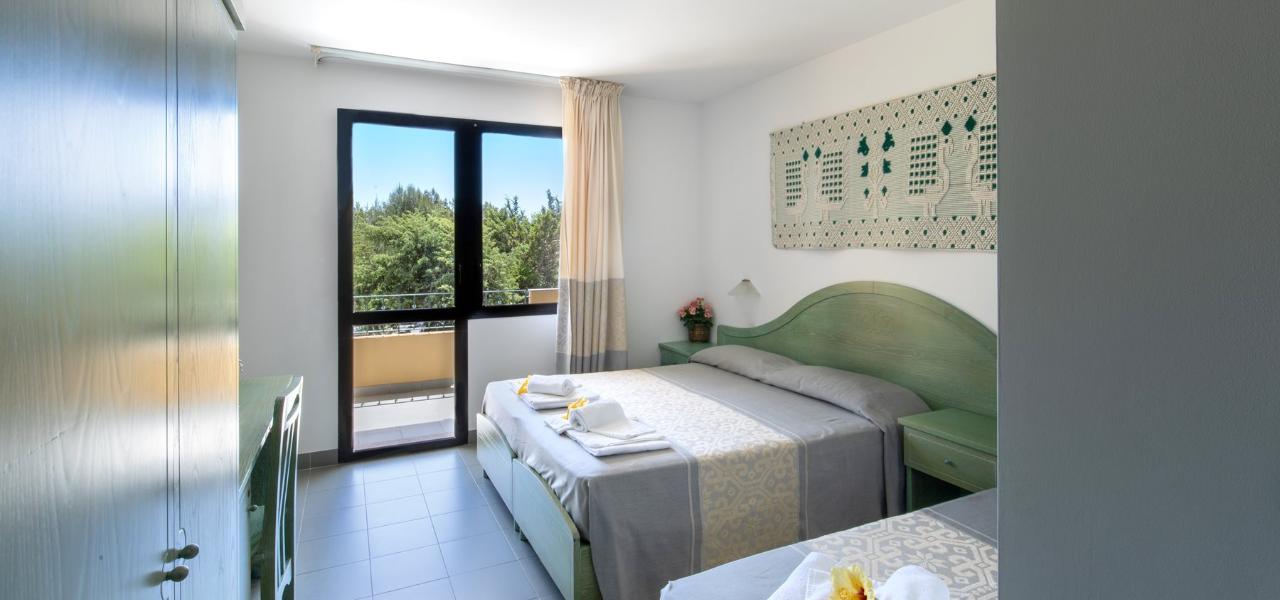 Matrimoniale + letto aggiunto Hotel Cala Dei Pini
