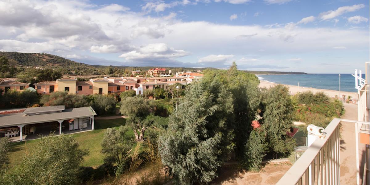 Zweiraum-Ferienwohnung mit Panoramabalkon Nr. 46 Residence Due Mari
