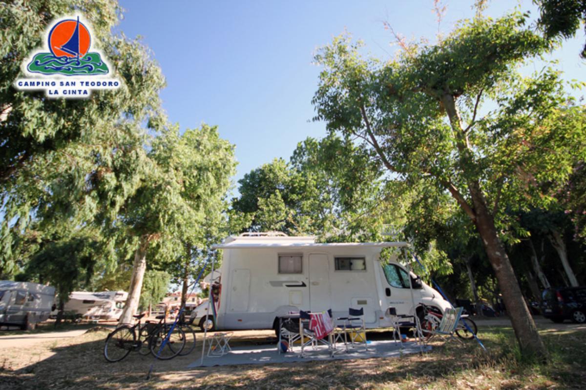 Emplacement standard Camping San teodoro La Cinta