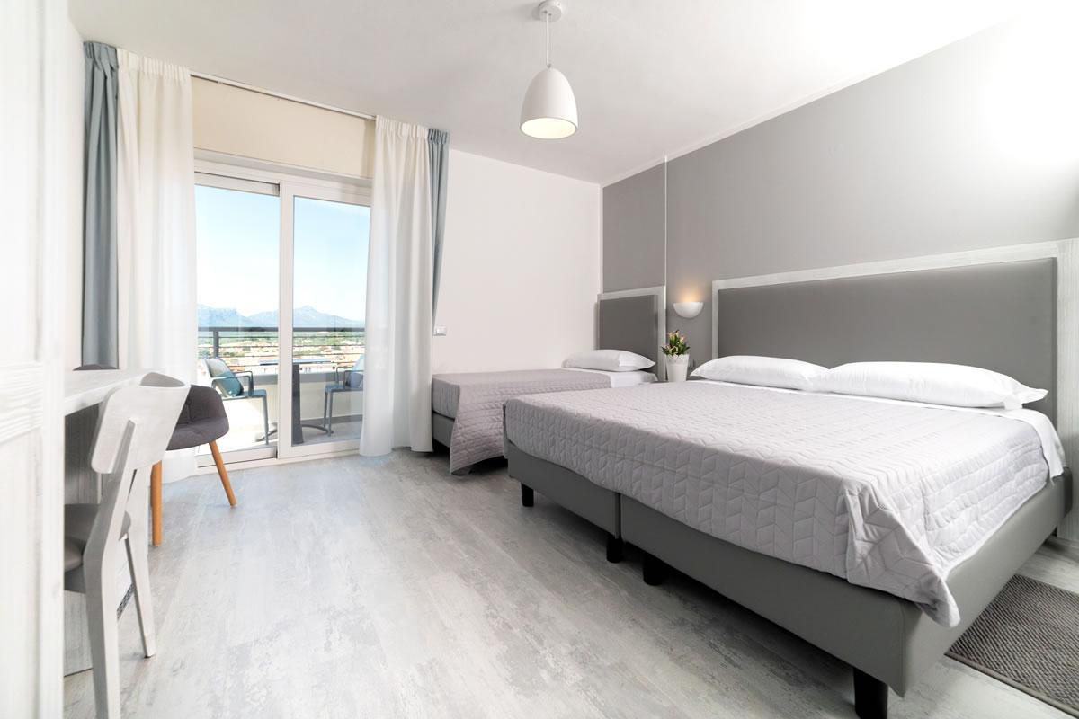 Camera vista mare Hotel gli Ulivi