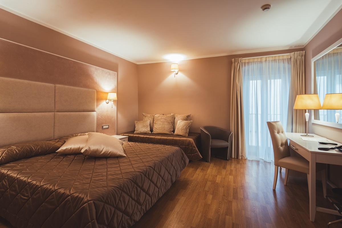 Chambre triple Hotel Centrale
