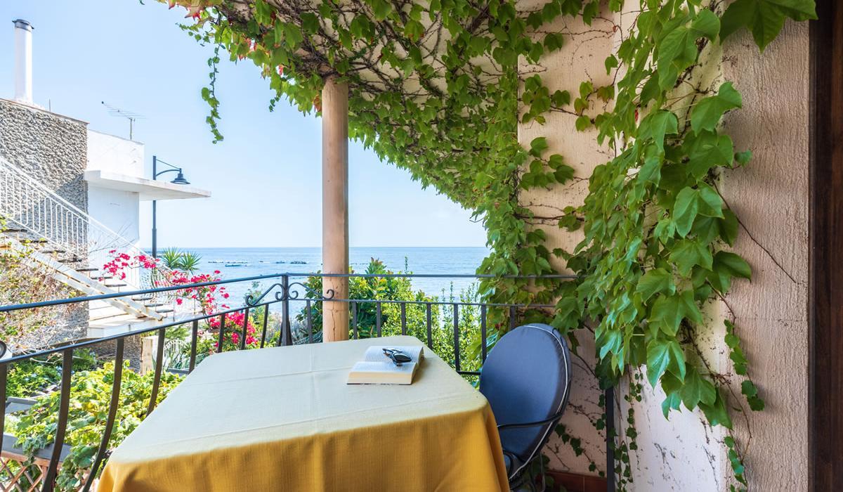 Vista mare Hotel Costa Dorada