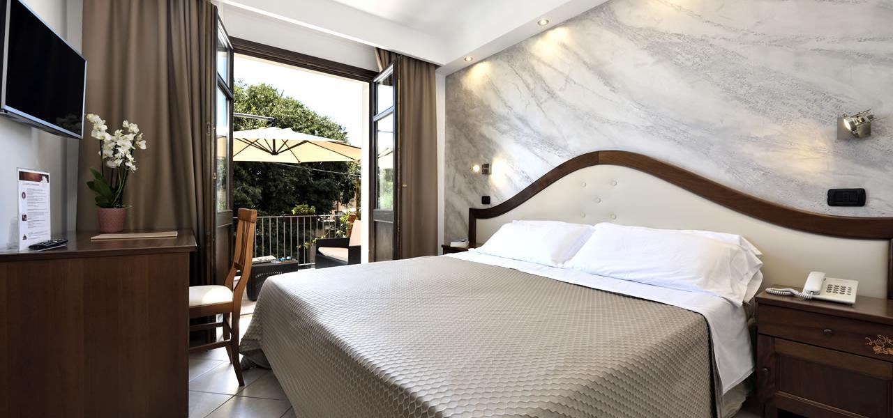 Estándar con terraza Hotel Nicoletta