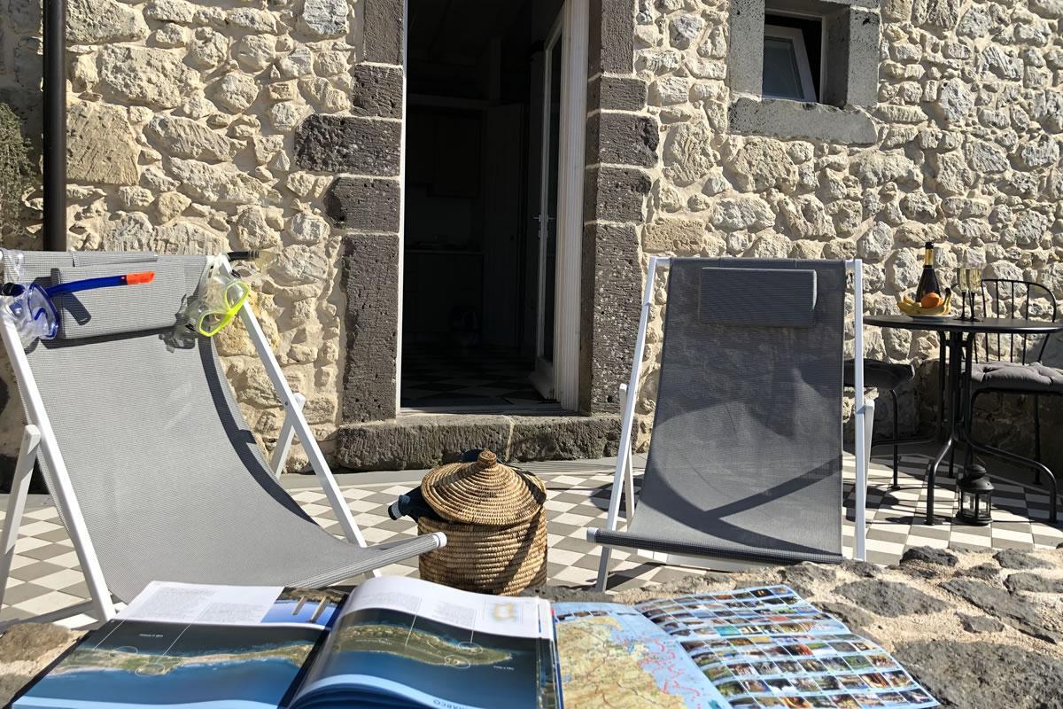 Deluxe con terrazza Hotel Maison Tresnuraghes