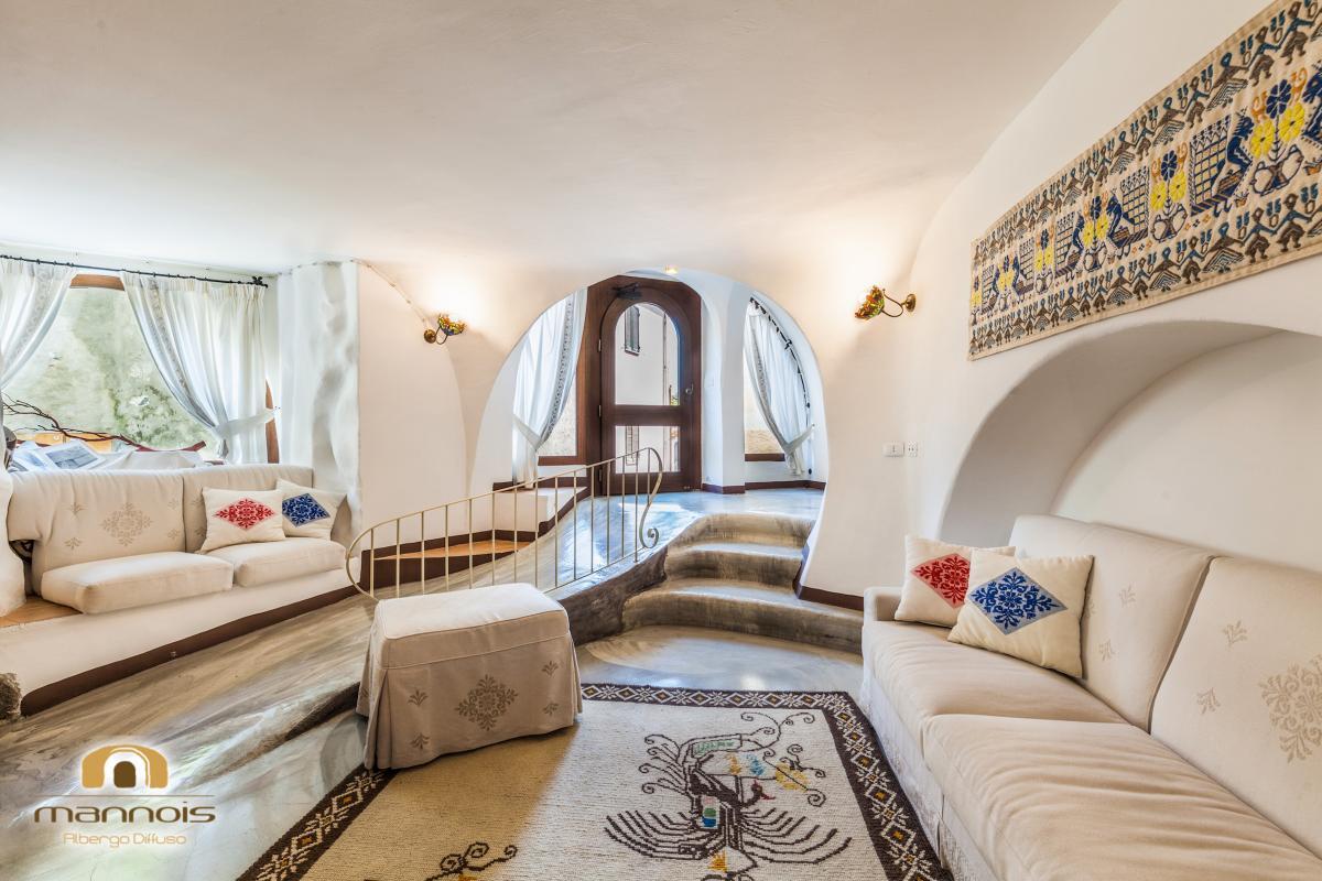 Dreibett – Familienzimmer Albergo Diffuso Mannois
