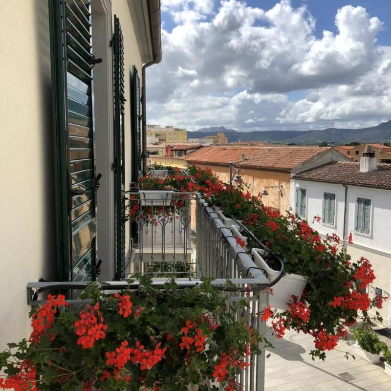 Wohnung mit zwei balkone und einem schlafzimmer Le Residenze del Centro