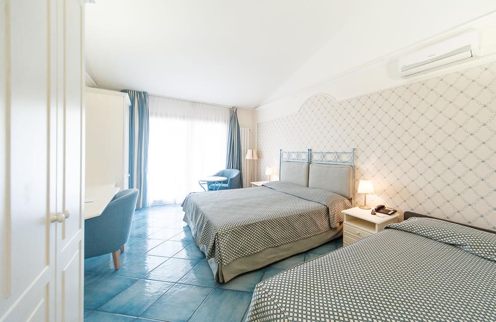 Chambre quadruple Hotel Santa Lucia