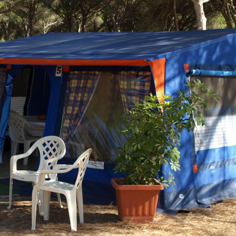 Myrtle Tent S'ena Arrubia Camping