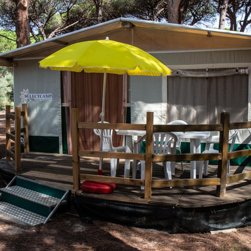 Oasis Tent S'ena Arrubia Camping