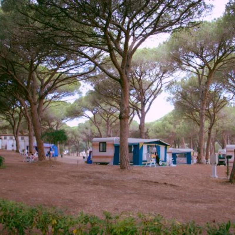 Wohnwagen S'Ena Arrubia S'ena Arrubia Camping