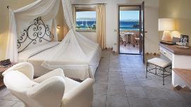 Classic Zimmer mit Meerblick  - Capo D'Orso Hotel Thalasso & SPA - Delphina