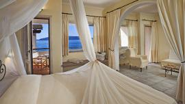 Deluxe Zimmer mit Meerblick  - Capo D'Orso Hotel Thalasso & SPA - Delphina