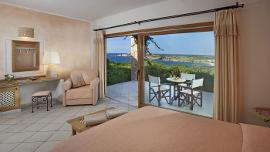 Junior Suite mit Meerblick - Hotel Marinedda Thalasso e SPA