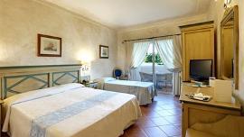 Standard Zimmer mit Garten Blick - Colonna Resort