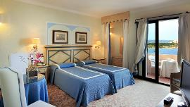 Front sea view room - Grand Hotel Smeraldo Beach