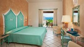 Camera Singola Vista Mare - Талассо & СПА Курорт-Гостиница Valle dell'Erica – Delphina