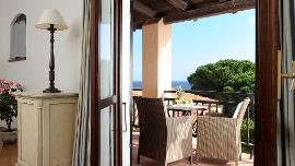 Suite mit Meerblick - Hotel Le Ginestre