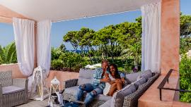 Suite with Sea View - Cala Caterina Hotel