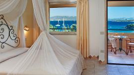 Eizelzimmer mit Meerblick - Capo D'Orso Hotel Thalasso & SPA - Delphina
