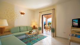 Suite mit partiellem Meerblick - Resort Cala di Falco - Delphina